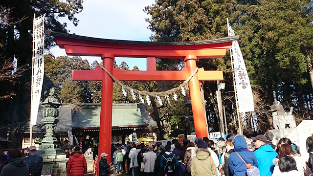 shrine in Japan from Tomoko's trip